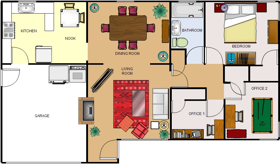 Floorplans An essential tool for a smooth transition Home Again